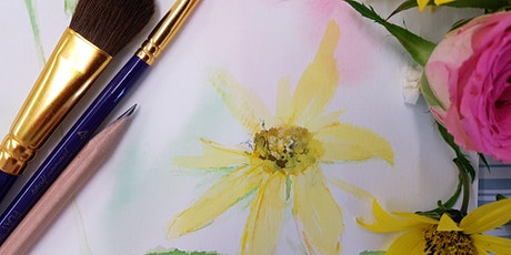 Spring Flowers In Soft Pastels (Adult Course) tickets