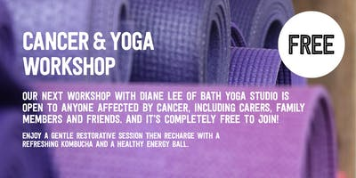 FREE CANCER & YOGA WORKSHOP with We Get It