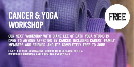 FREE CANCER & YOGA WORKSHOP with We Get It tickets