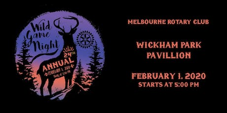 24th Annual Melbourne Rotary Club Wild Game Night tickets
