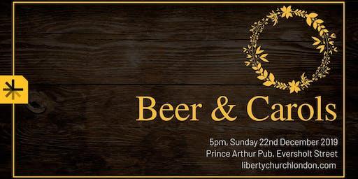 Beer & Carols with Liberty Church London