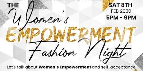 The Women's Empowerment Fashion Night tickets