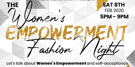 The Women's Empowerment Fashion Night tickets