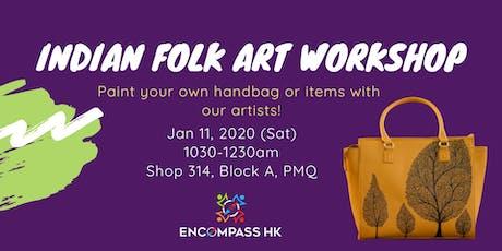 Indian Folk Art Workshop tickets