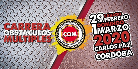 COM.OCR Carrera Obstáculos Múltiples tickets