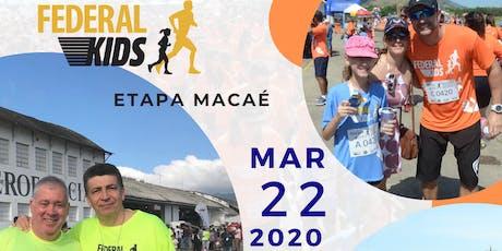 Federal Kids Etapa Macaé 2019 ingressos