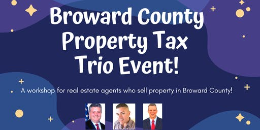Broward County Property Tax - Workshop for Realtors