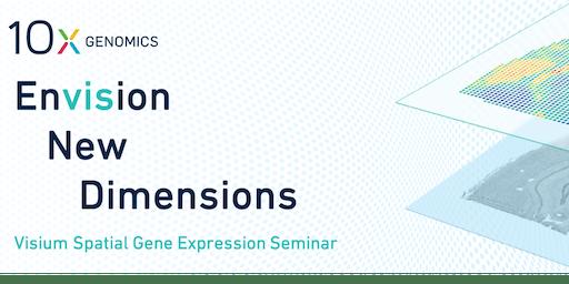 10x Genomics Visium Seminar | Toulouse