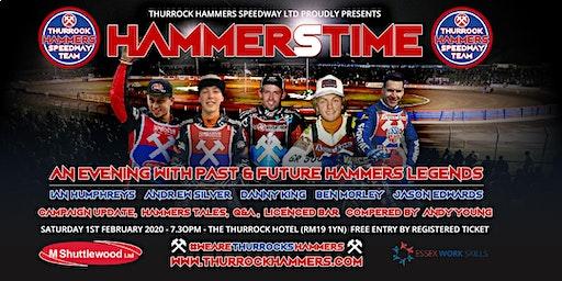 Hammerstime – a Thurrock Hammers fans evening