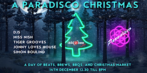 Add2bee Live presents: A Paradisco Christmas