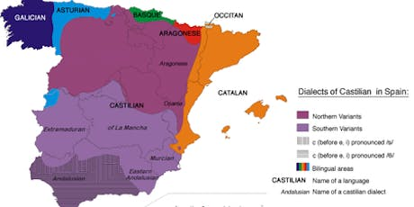 Accents: We analyze the different accents of Spain tickets