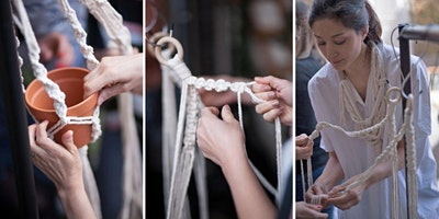 Macrame Plant Hanger Workshop @Rawberry Winchester
