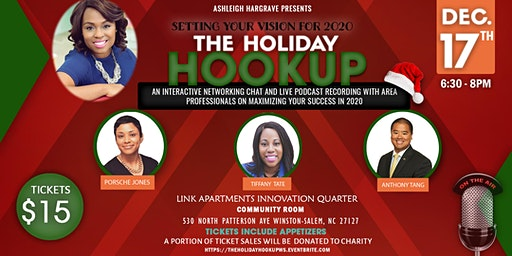 The Holiday Hookup: networking and purpose building event