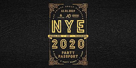 NYE Party Passport 2020 tickets