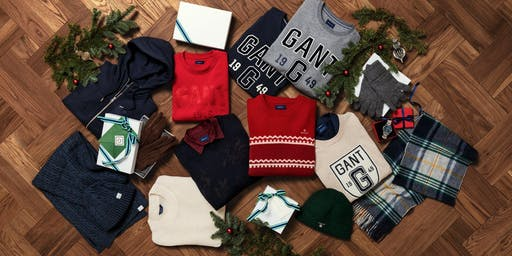 Christmas comes early at GANT!