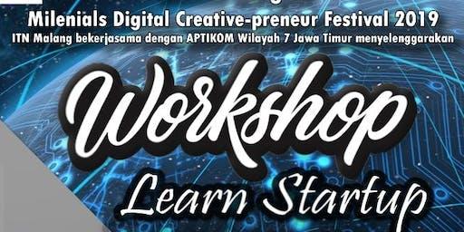 Workshop Learn Startup   Milenials Digital Creative-preneur Festival 2019