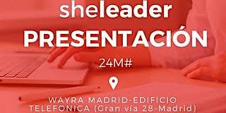 Presentación Sheleader con Maria Manzano