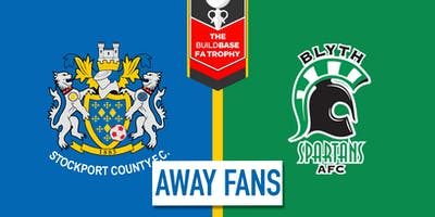 Away Fans - #StockportCounty vs Blyth Spartans A.F.C.