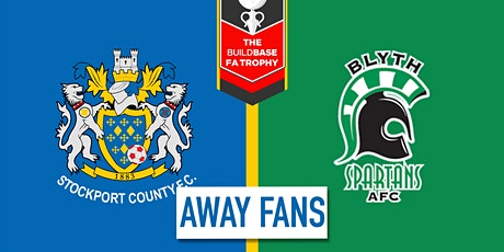 Away Fans - #StockportCounty vs Blyth Spartans A.F.C. tickets