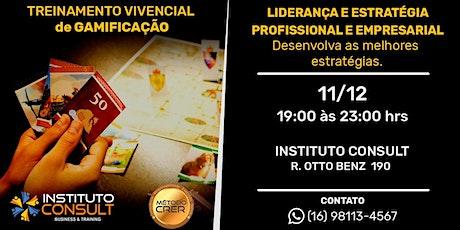 TREINAMENTO GAMIFICAÇÃO - LIDERANÇA E ESTRATÉGIA! ingressos