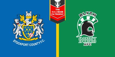 #StockportCounty vs Blyth Spartans A.F.C.