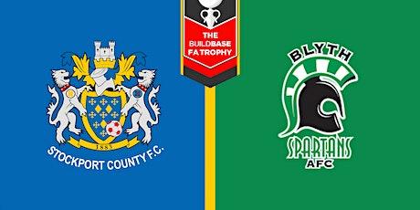 #StockportCounty vs Blyth Spartans A.F.C. tickets