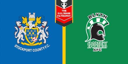 #StockportCounty vs Blyth Spartans A.F.C.
