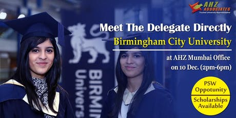 Birmingham City University Admission Assessment Day tickets