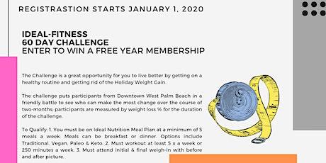Ideal-Fitness Challenge Registration tickets