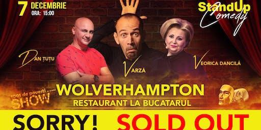 Wolverhampton Stand Up Comedy - Dan Tutu, Varza si Veorica Dancila