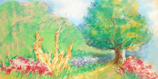 The Summer Garden In Soft Pastels (Adult Course)