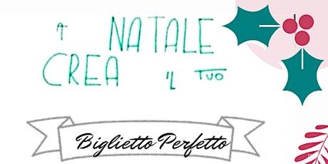 Merenda/WORKSHOP di bella grafia Natalizia biglietti