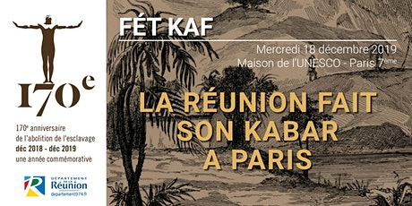 FÉT KAF 2019 A PARIS billets