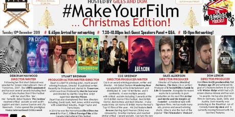 MAKE YOUR FILM 6 - CHRISTMAS EDITION! tickets