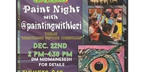 Midmainesesh paint date with @paintingwithlori tickets