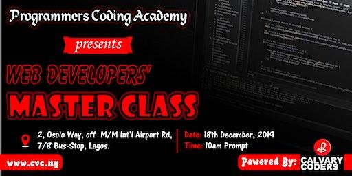 Web developers' master class