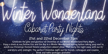 Winter Wonderland Cabaret Party Night with Cocktail! tickets