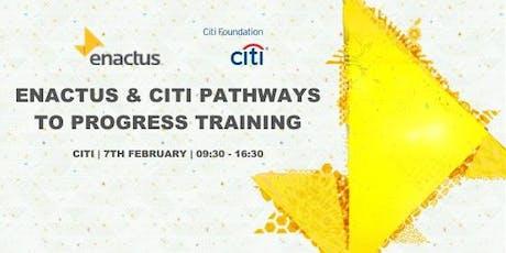 Enactus & Citi Pathways to Progress Project Development tickets