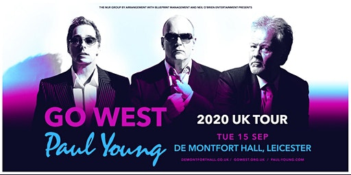 Go West & Paul Young (De Montfort Hall, Leicester)