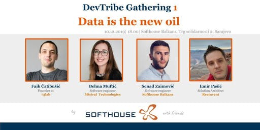 DevTribe Gathering 1: Data is the new oil