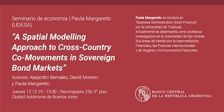 Seminario de Economía   Paula Margaretic (UDESA) entradas