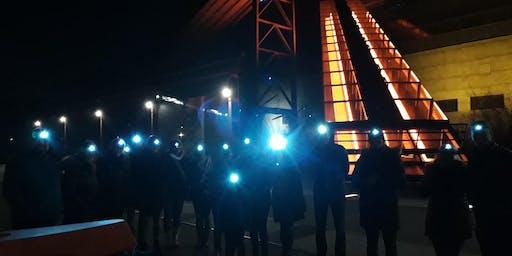 Stirnlampen-Führung über das Unesco Welterbe Zollverein