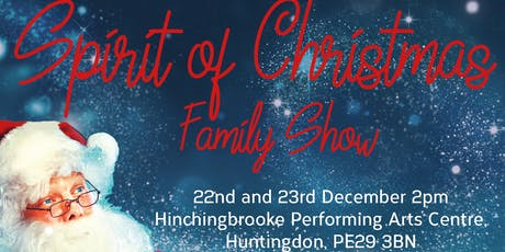 Spirit of Christmas Family Show tickets