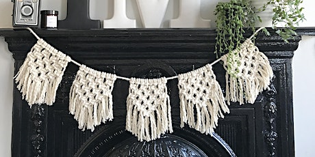 Macrame bunting workshop @Alresford Linen tickets