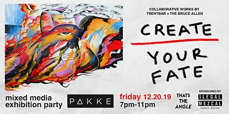 Create Your Fate | Mixed Media Exhibition Party tickets