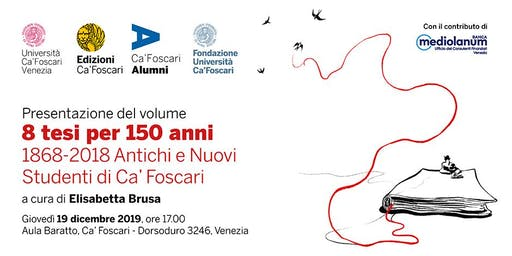 Presentazione del volume: 8 tesi per 150 anni di Elisabetta Brusa