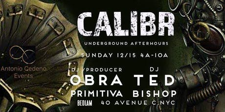 CALIBR Underground After Hours tickets