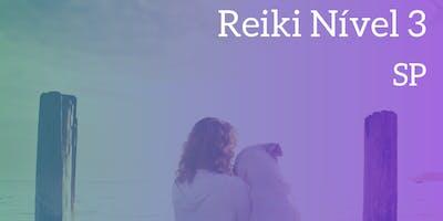 Reiki Nível 3 São Paulo - 29/02 (em até 12 vezes)
