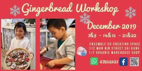 Gingerbread  Cookies Workshop tickets