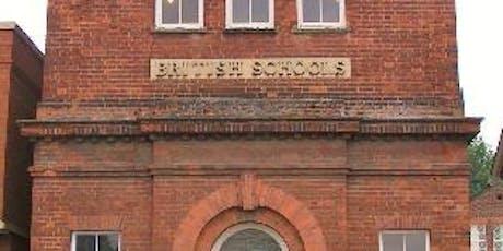 Ghost hunt at British Schools museum tickets